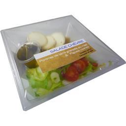 Salade chèvre pommes de terre grenaille au miel & fi...