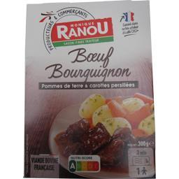Bœuf bourguignon pommes de terre & carottes persillé...