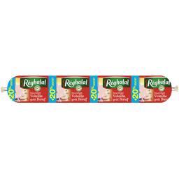 Réghalal Saucirégal volaille goût bœuf halal la saucisse de 600 g - 20% gratuit