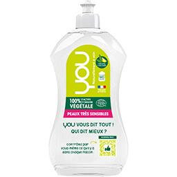 You You Liquide vaisselle verveine citronnée peaux très sensibles le flacon de 500 ml