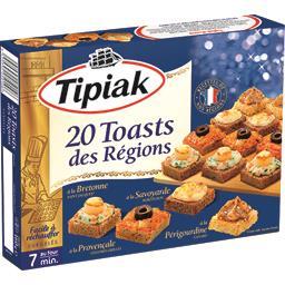 Toasts des Régions Tipiak