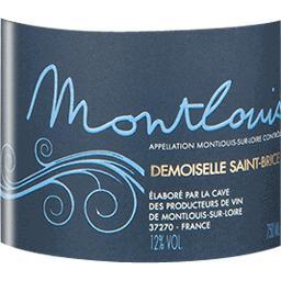 Montlouis brut, vin pétillant - Demoiselle Saint Bri...