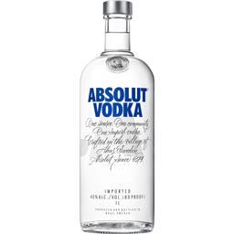 Absolut Absolut Vodka la bouteille de 1 l