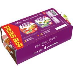 Pommette Spaghetti bolognaise/petits légumes boulgour, dès 12... les 4 barquettes de 230 g - Offre spéciale