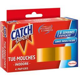 Catch Papier tue-mouches sans odeur