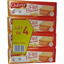 Chabrior Biscuits Petit Beurre le paquets de 200 g