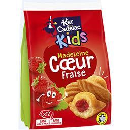 Kids - Madeleine cœur fraise