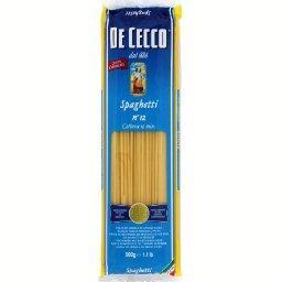 Spaghetti n°12, pâtes alimentaires