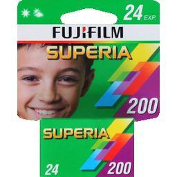 Film Superia 200 Iso 135 24 poses Carded