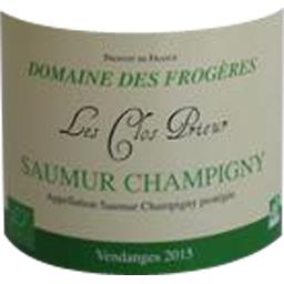 Saumur Champigny BIO, vin rouge