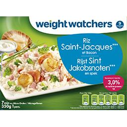 Riz Saint-Jacques et bacon 9 pts