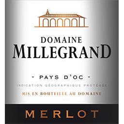 d'Oc Dne Millegrand Merlot vin Rouge 2017