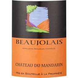 Beaujolais vin rouge Château Mandarin