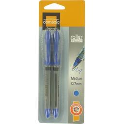 Roller pointe moyenne 0,7 mm bleu
