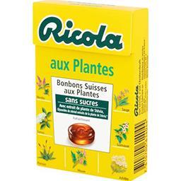Bonbons aux plantes sans sucres