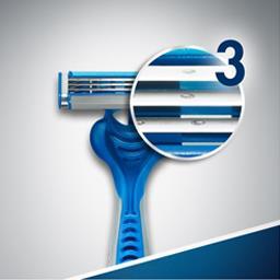 Sensor 3 - Rasoirs jetable pour homme