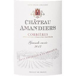 Corbières Château Amandiers vin Rouge 2017