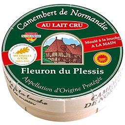 Fleuron du Plessis Camembert de Normandie AOC au lait cru