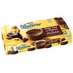 Nestlé La Laitière Petit Pot de Crème au chocolat les 8 pots de 100 g