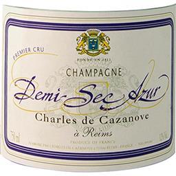 Champagne Azur 1er cru 1/2 sec