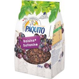Paquito Raisins secs sultanine le sachet de 250 g