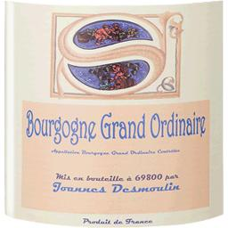 Bourgogne grand ordinaire, vin rouge