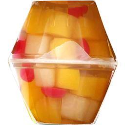 Mélange de fruits du verger au sirop léger