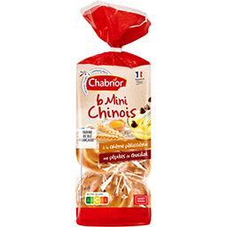 Mini chinois à la crème pâtissière et pépites de cho...