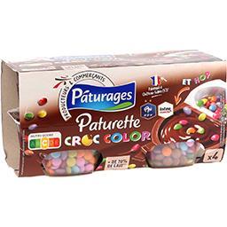 Paturette - Crème dessert Croc Color