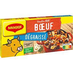 Maggi Maggi Bouillon Kub bœuf dégraissé la boite de 12 cubes - 120 g
