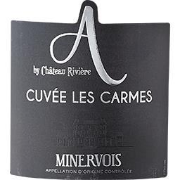 """Minervois """"A"""" by Château Rivière Les Carmes vin Rouge 2015"""