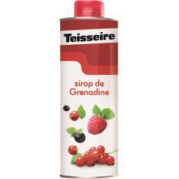 Teisseire Teisseire Sirop de grenadine - EDITION COLLECTOR la bouteille de 60 cl