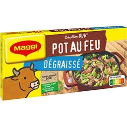 Maggi Maggi Bouillon Kub pot au feu dégraissé la boite de 12 cubes - 120 g