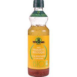 Tête Noire Sauce vinaigrette BIO moutarde à l'ancienne la bouteille de 36 cl