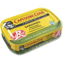 Sardines à l'huile d'olive vierge extra Label Rouge