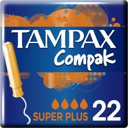 Tampax Tampax Compak - Tampons Super Plus avec applicateur la boite de 22