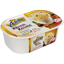 Glace rhum raisin