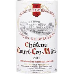 Côtes de Bergerac Château Court Les Mûts vin Rouge 2...
