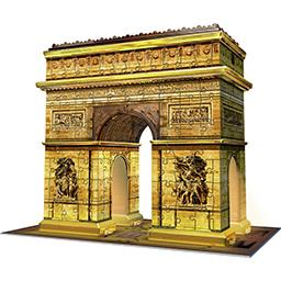 Puzzle 3D Night Edition Arc de Triomphe Paris
