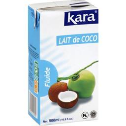Lait de coco fluide