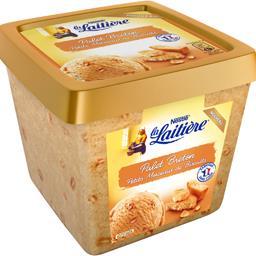 La Laitière Crème glacée palet breton petits morceaux de biscuit... le bac de 430 g