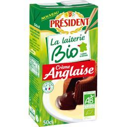 Président La Laiterie Bio - Crème anglaise BIO