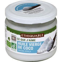 Ethiquable Huile vierge de coco BIO le pot de 250 ml