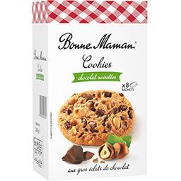Bonne Maman Bonne Maman Cookies noisettes aux gros éclats de chocolat la boite de 9 - 225 g