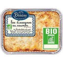 Lasagnes au saumon aux épinards BIO