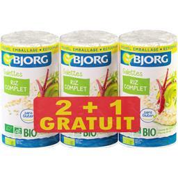 Bjorg Galettes riz complet BIO