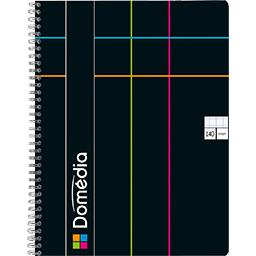 Cahier reliure intégrale 225x297 seyès coloris assor...