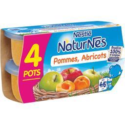 Pommes abricots, dès 4/6 mois