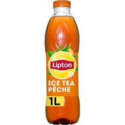 Lipton Lipton Ice Tea - Boisson thé saveur pêche la bouteille de 1 l