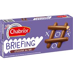 Biscuits Briefing chocolat au lait
